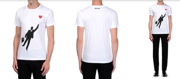 Moschino-Mens-tshirt-white
