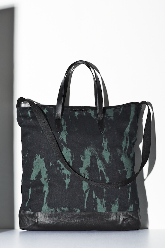 Dries Van Noten Tie died Tote