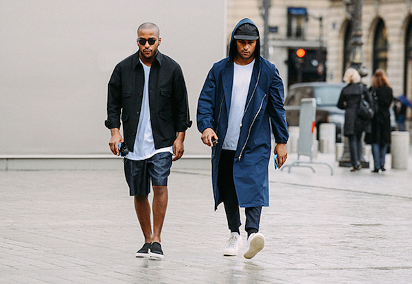 Mens Paris Fashion Week Street Style Spring Summer