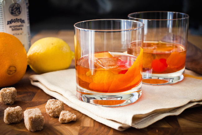 old fashioned cocktail MSP