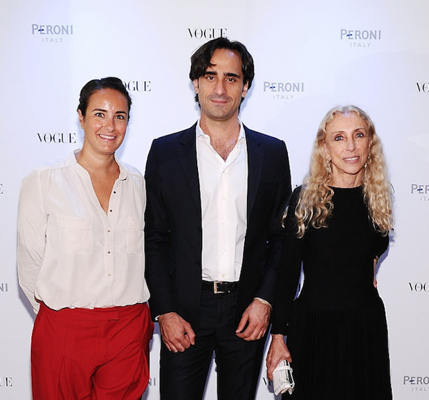 Peroni's Ambassador with Vogue Italia