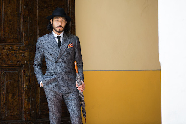 Street Style - Pitti Uomo 90 - source supplied Vogue  France
