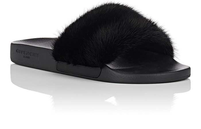 Givenchy's Mink Fur Slide