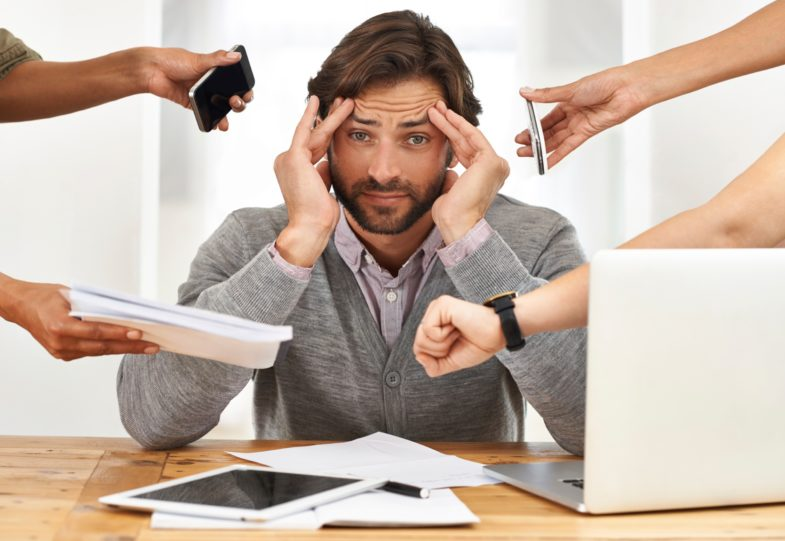 Do you think being stressed causes hair loss?